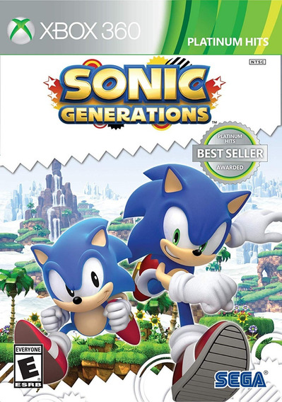 Sonic Generations Xbox 360 Mídia Física Lacrado