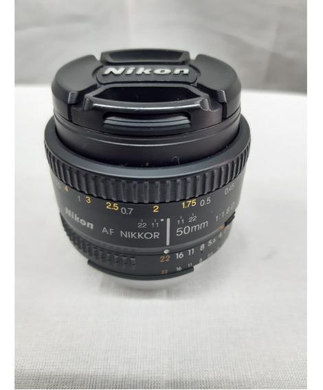 Lente Nikon Af S Nikkor 35mm 1.8g