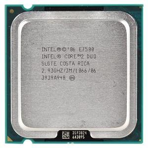 Procesador Intel Core 2 Duo E7400 S 775/2,80ghz/1066/3m