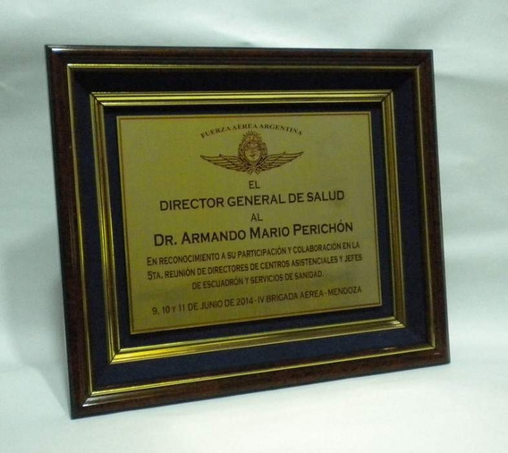 Trofeos - Placas - Plaquetas - Homenajes - Reconocimientos