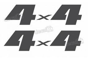 Emblema Adesivo 4x4 Suzuki Jimny Par Jm44