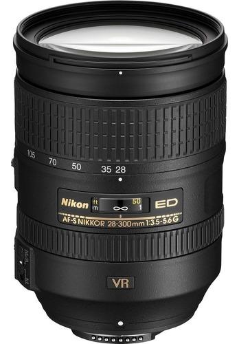 Lente Nikon Fx 28-300mm F/3.5-5.6g Ed Vr