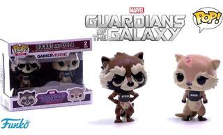 Funko Pop Marvel Guardians Of The Galaxy Rocket & Lyla