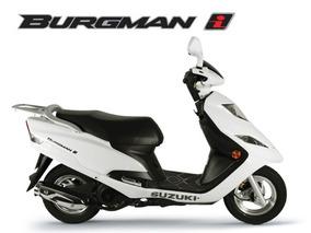 Suzuki Burgman I 125cc Zero Km 2017/2018 Melhor Preço De Sp