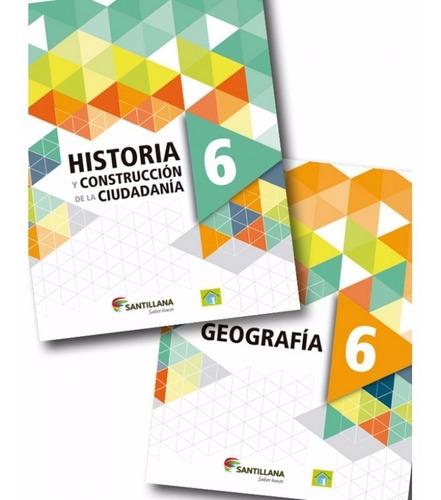 Pack Historia Y Geografía 6 - Santillana