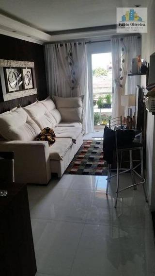 Apartamento Com 3 Dormitórios À Venda, 100 M² Por R$ 350.000 - Casa Branca - Santo André/sp - Ap1419