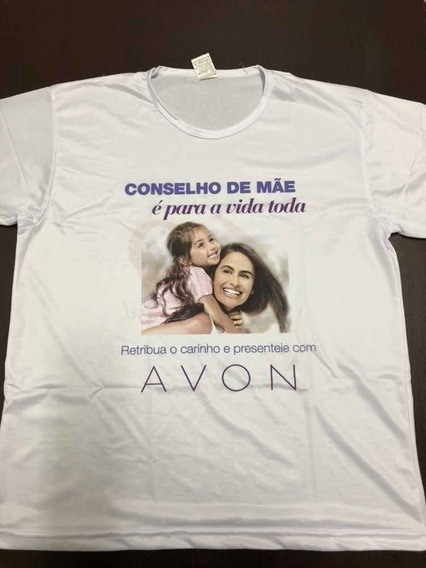 Camiseta Avon Edição Dia Das Maes Blusa Camisa