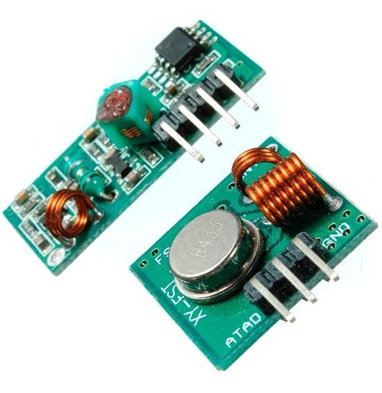 Par De Módulos Rf 433mhz, Transmissor + Receptor - Arduino