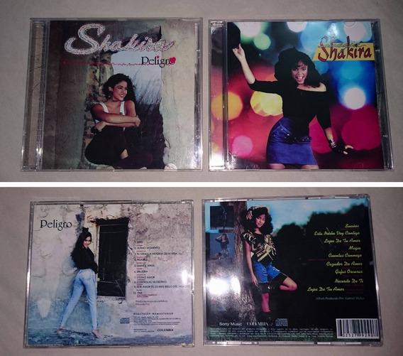 Cd Shakira Peligro & Magia (bonus Cd De Inéditas)