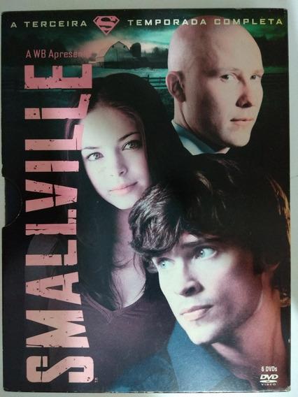 Dvd Box Smallville 3ª Temporada (6 Discos) Original