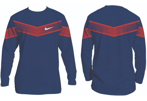 Camiseta Para Pratica De Esporte Uv50 Manga Longa Ref:22