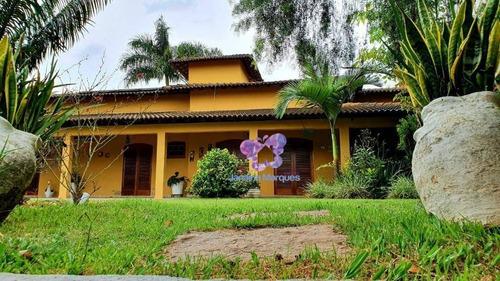 Chácara Com 4 Dormitórios À Venda Em Condomínio Fechado Portal Do Sol - Araçariguama/são Paulo - Ch0131