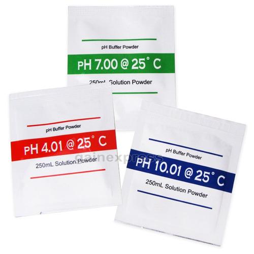 Kit Solucion Calibracion Medidor Ph 4,00 6.86ph Tester Polvo
