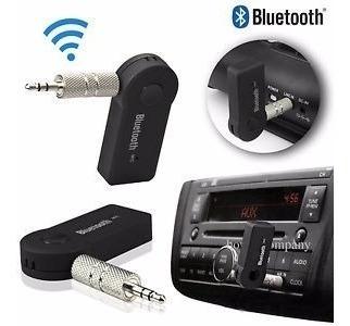 Adaptador Receptor Bluetooth Radio Carro Bateria P2 Auxiliar