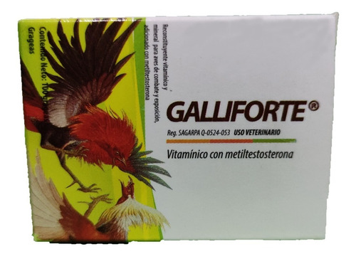 Galliforte Vitaminado 100 Grageas  Riverfarma