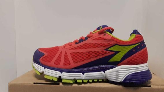 Zapatillas Diadora 4100 Mujer Fucia