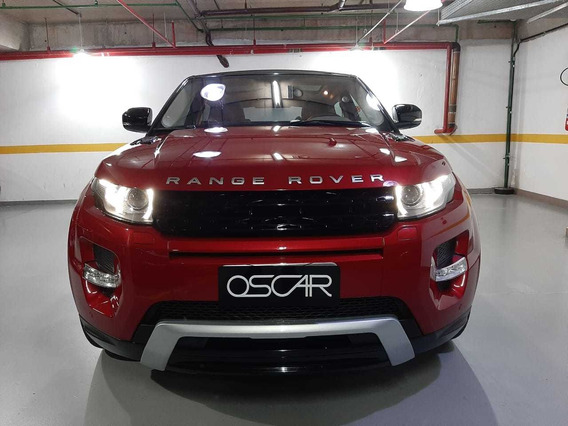 Land Rover Evoque Dynamic Coupe 4wd 2012 C/ Teto Solar