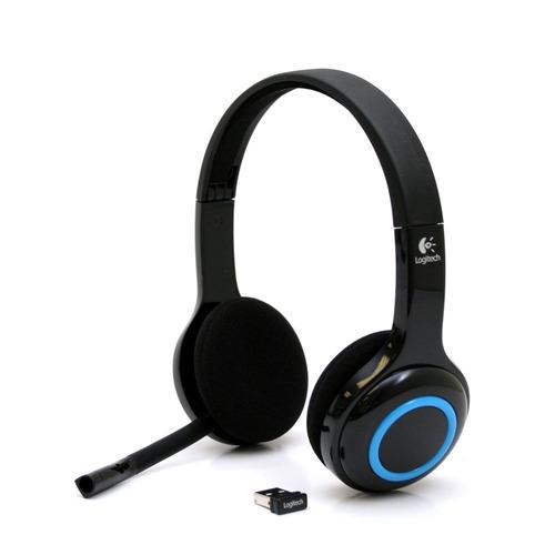Diadema Logitech H600 Inalambrica Usb Con Microfono