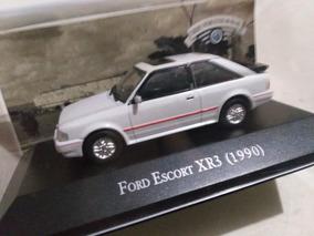 Ford Escort Xr3 1990 Carros Inesquecíveis Do Brasil 1/43.