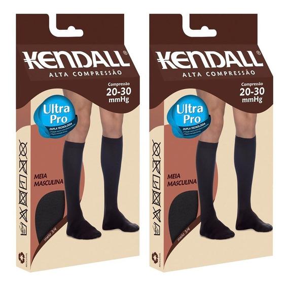 Kit Com 2 Meias 3/4 Kendall Alta Compr. Masculina