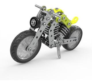 158pcs Militar Moto Inteligente Construcción Set 3d