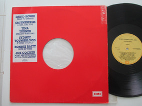 David Bowie, Joe Cocker, Lp Promo Mix 1990 (leia Descrição