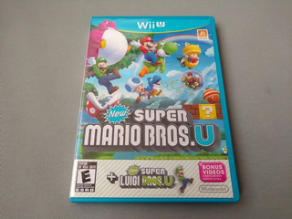 New Super Mario Bros U Con New Super Luigi Para Wii U