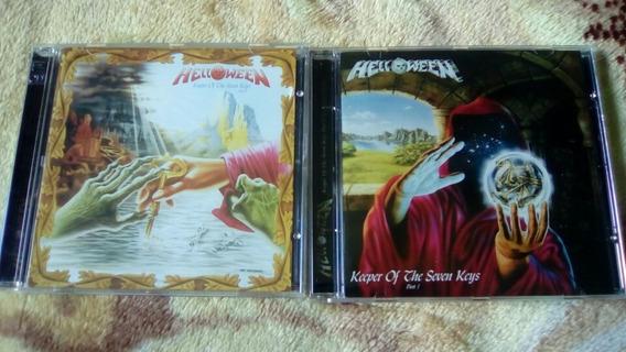 Cds Helloween Keeper Of The Sevens Keys 1 E 2 Remasterizado