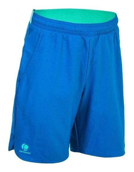 Short Para Tenis Artengo Junior Azul