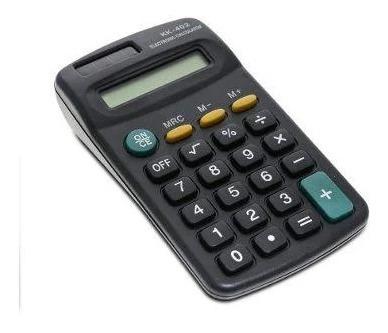 Calculadora Bolso 8 Dígitos Kk-402 Portátil Prática