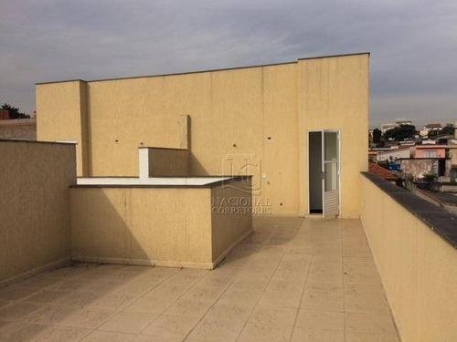 Cobertura Com 2 Dormitórios À Venda, 100 M² Por R$ 320.000,00 - Vila Camilópolis - Santo André/sp - Co2316