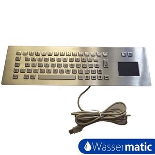 Teclado Metálico Con Touch Pad