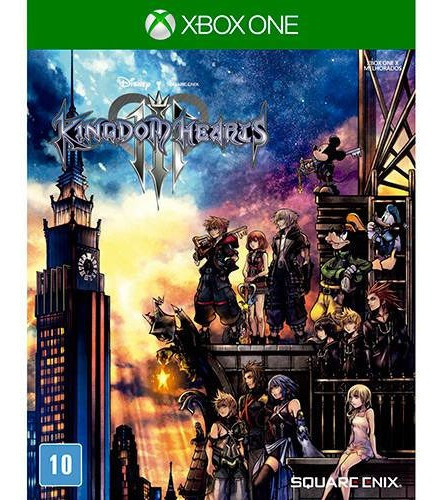 Jogo Kingdom Hearts 3 Iii - Xbox One Novo Lacrado Original