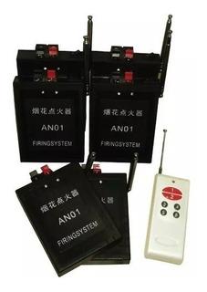 Consola Inalambrica 6 Canales Pirotecnia, Fuegos Artificial