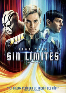 Dvd - Star Trek Sin Limites