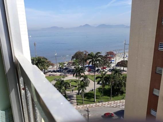 Ponta Da Praia- 1 Dorm-vista Mar-reformado-vg Col Ref-1432