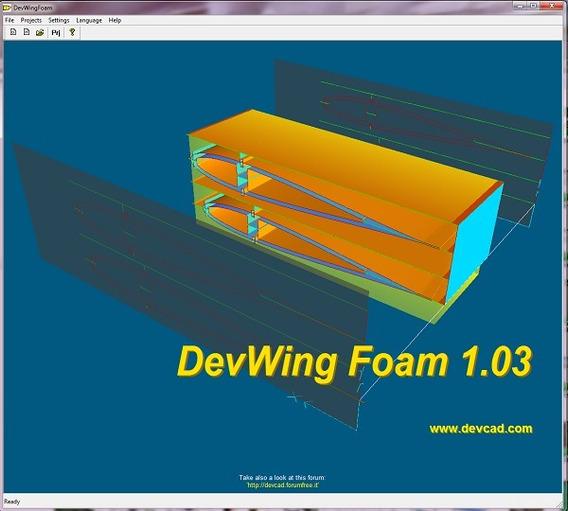 Devwing Foam Para Aeromodelo