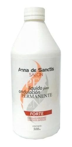 Liquido Locion Para Permanente Forte Anna De Sanctis X 500ml
