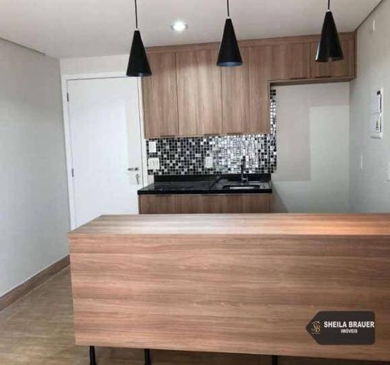 Apartamento Com 1 Dormitório Para Alugar, 38 M² Por R$ 1.700/mês - Jardim Flor Da Montanha - Guarulhos/sp - Ap0007