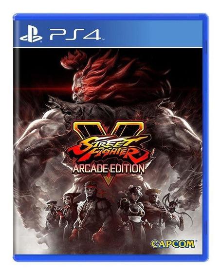 Street Fighter V Arcade Edition Ps4 Mídia Física