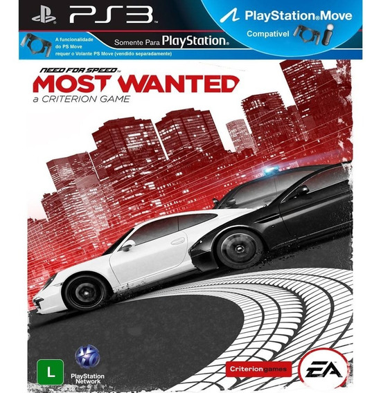 Jogo Ps3 Need For Speed Most Wanted Novo Lacrado M/física