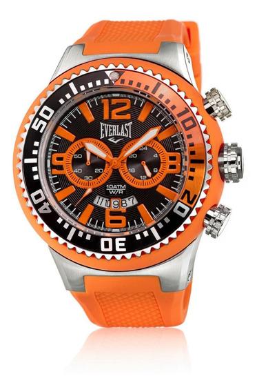 Relógio Pulso Everlast Masculino Esportivo Multitarefa E314