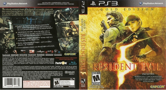 Resident Evil Gold Edition Ps3