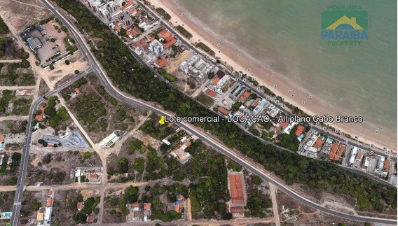Terreno Comercial Para Locação - Altiplano Cabo Branco - João Pessoa - Pb - Te0034