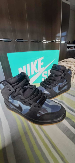 Tenis Nike Sb Dunk High Obisidian Camo