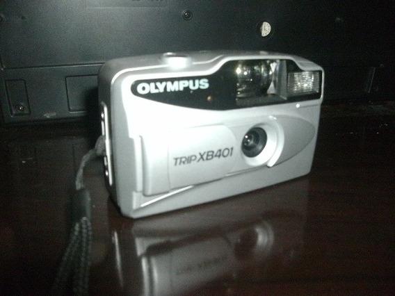 Kit Câmera Fotográfica Analógica Olympus Trip Xb401!