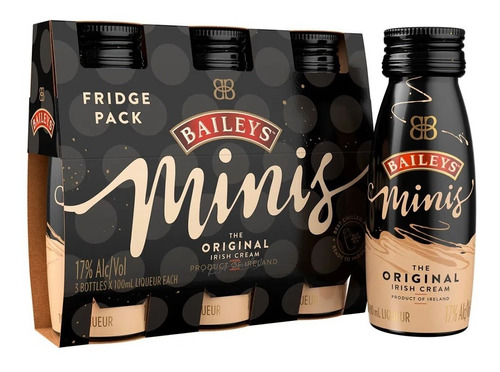 Pack Crema Whiskey Baileys 100ml - mL a $110