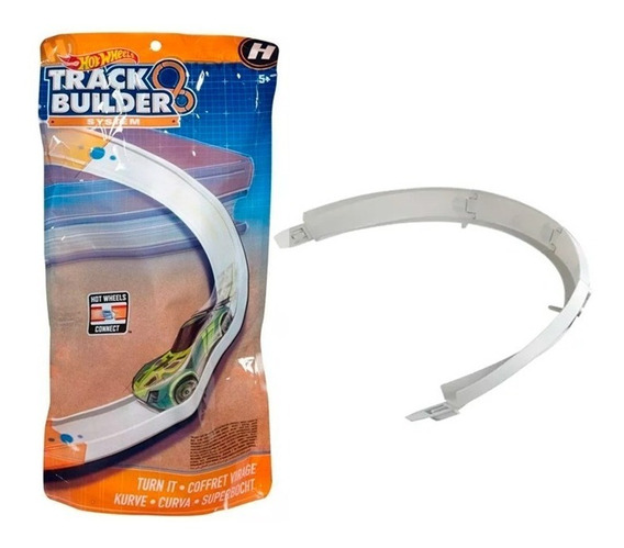 Hot Wheels Track Builder 2 Modelos Fnj22