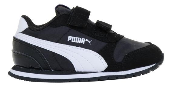 Zapatillas Puma Moda St Runner V2 Nl V Inf Bebe Ng/bl