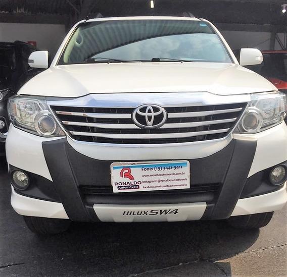 Toyota Hilux Sw4 2.7 16v 4p Sr Flex Automático
